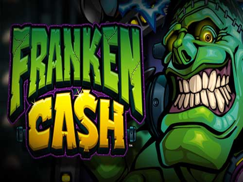 Franken Cash background logo