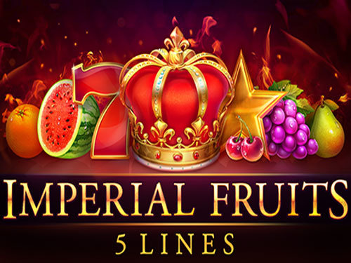 Imperial Fruits: 5 lines background logo
