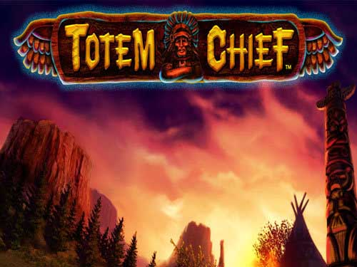 Totem Chief background logo