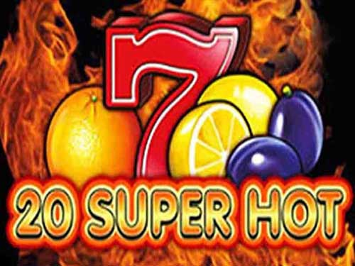 20 Super Hot background logo