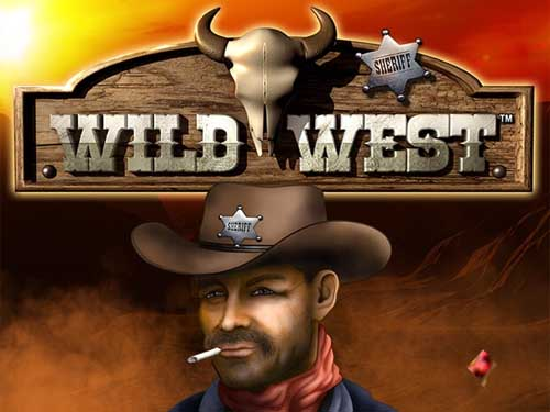 Wild West background logo