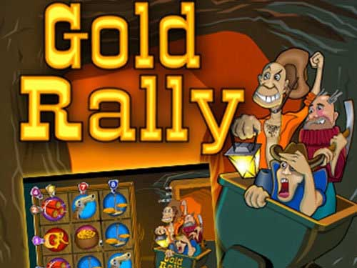 Gold Rally background logo