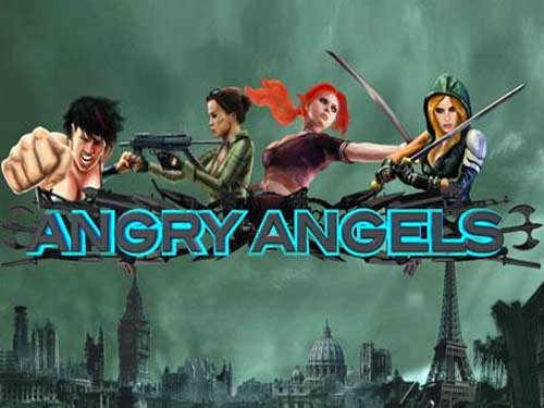Angry Angels background logo