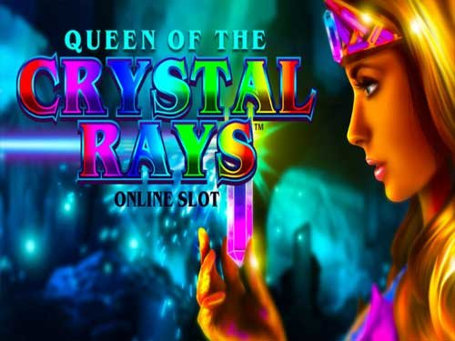Queen Of The Crystal Rays background logo