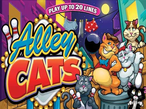 Alley Cats background logo