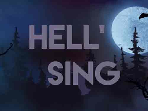 Hell'Sing background logo